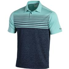Under Armour Men's Coolswitch Upright Stripe Polo