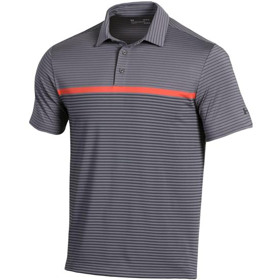 Under Armour Men's Playoff Super Stripe Polo