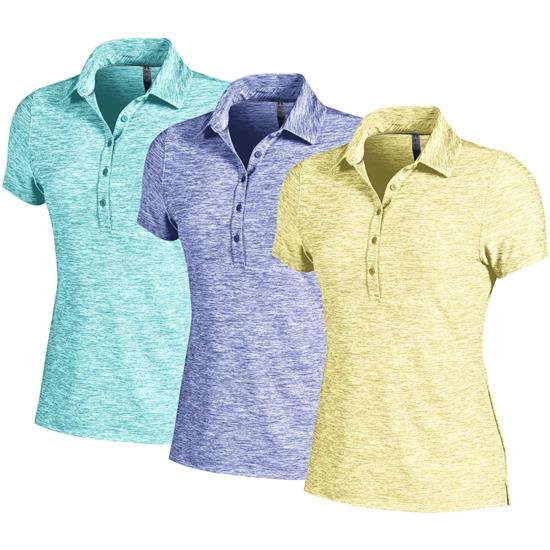 Under Armour Zinger Heather Polo for Women