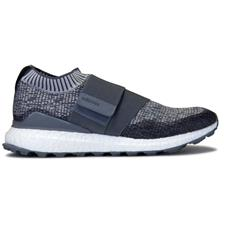 Adidas Grey Three-Grey One-Collegiate Navy Crossknit 2.0 Golf Shoes