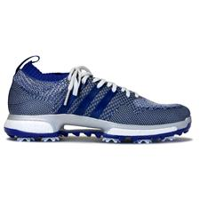 Adidas Grey One-Real Purple-White Tour360 Knit Golf Shoes