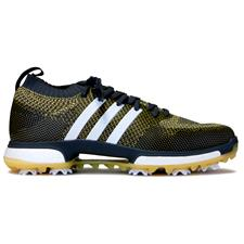 Adidas Grey Five-White-Eqt Yellow Tour360 Knit Golf Shoes
