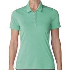 Adidas Hi-Res Green Ultimate 365 Short Sleeve Polo for Women