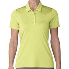 Adidas Frozen Yellow Ultimate 365 Short Sleeve Polo for Women