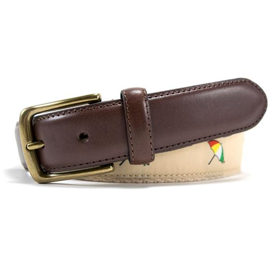Arnold Palmer 32mm Embroidered Web Belt