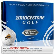 Bridgestone Extra Soft Custom Logo Golf Balls