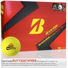 Bridgestone Custom Logo Tour B330-RX Yellow B Mark Golf Ball