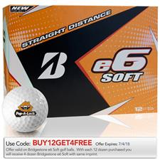 Bridgestone e6 Soft Custom Express Logo Golf Balls