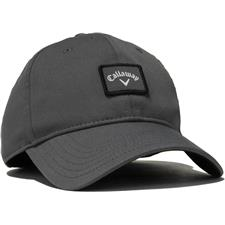 Callaway Golf Men's 82 Label Fitted Hat - Charcoal - Large/X-Large