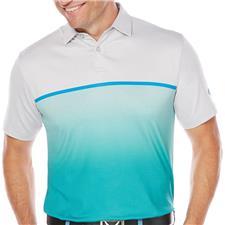 Callaway Golf Men's Fade-Printed Heather Block Polo