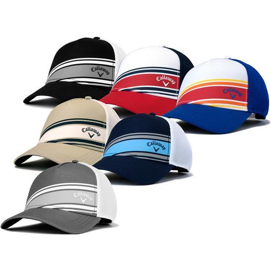 Callaway Golf Men's Stripe Mesh Hat