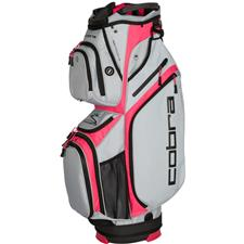 Cobra Ultralight Cart Bag for Women - Quarry-Raspberry