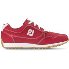 FootJoy Red FJ Sport Retro Golf Shoes for Women