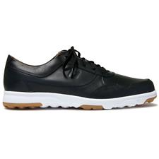 FootJoy Men's Golf Casual Shoes - Black Smooth - 9 1/2 Medium