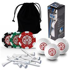 Logo Golf Monogram Gift Set - Srixon Q-Star Sleeve