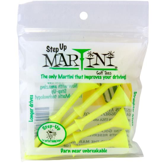 Martini Step Up Tees - 3 1/4 Inch - 5 CT