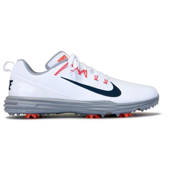 35ba66333f4f Nike Men s Lunar Command 2 Golf Shoes - White-Thunder Blue-Wolf Grey ...