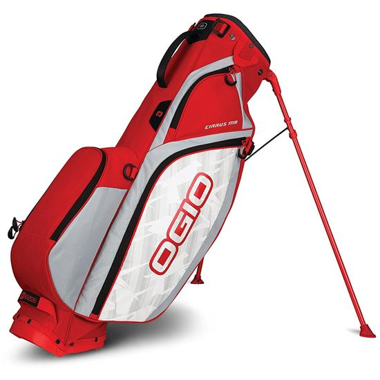 Ogio Cirrus Mb Stand Bag Rush Red Golfballs Com