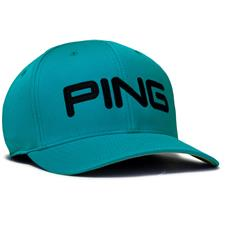 PING Men's Tour Structured Hat - Turquoise-Black - Large/X-Large