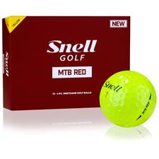 Snell MTB Red Yellow Golf Balls