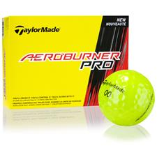 Taylor Made Aeroburner Pro Yellow Golf Balls