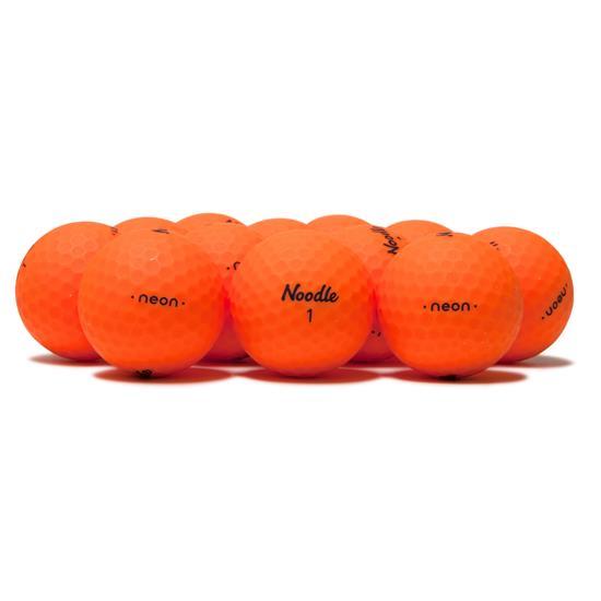Taylor Made Noodle Neon Matte Orange Golf Balls