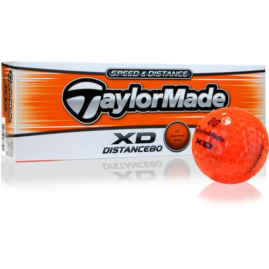 Taylor Made XD Orange Golf Balls