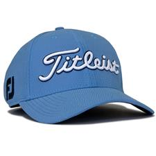 Titleist Men's Dobby Tech Hat - Allure Blue-White - Large/X-Large