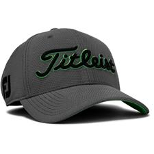c243cf9397b Titleist Men s Dobby Tech Hat - Charcoal-Green - Medium Large