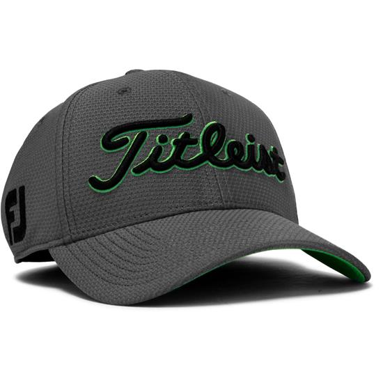2bcde6d59e0 Titleist Men s Dobby Tech Hat - Charcoal-Green - Large X-Large ...