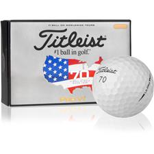 Titleist Pro V1 Play Number 70 U.S. Open Half Dz Golf Balls