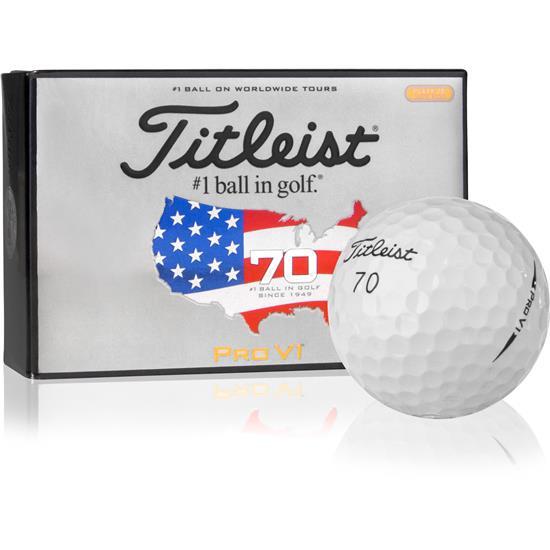 Titleist Prior Gen. Pro V1 U.S. Open Half Dz Golf Balls