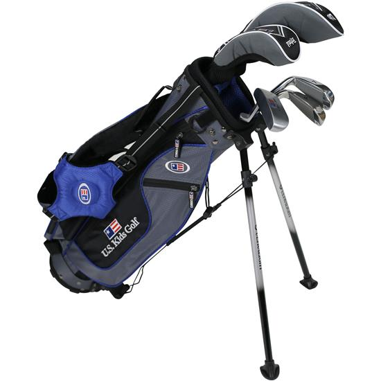 U.S. Kids Ultralight 45 Inch 5-Club DV2 Stand Bag Set