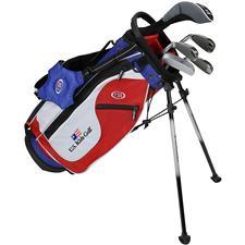 U.S. Kids Ultralight 48 Inch 5-Club DV2 Stand Bag Set