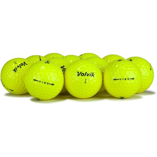 Volvik Vibe Yellow Golf Balls
