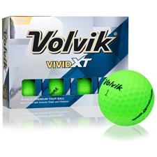 Volvik Vivid XT Matte Green Personalized Golf Balls
