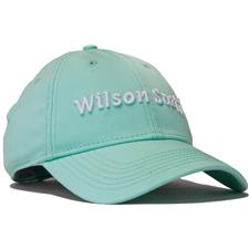 Wilson Staff Relaxed Personalized Cap for Women - Glacier Blue