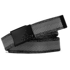 Adidas Heather Webbing Belt - Black-Grey Three - One Size Fits Most