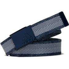 Adidas Heather Webbing Belt - Collegiate Navy-White - One Size Fits Most