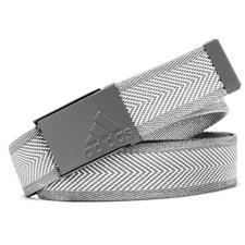Adidas Heather Webbing Belt - White-Grey Three - One Size Fits Most