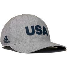 Adidas Men's Heathered USA Hat