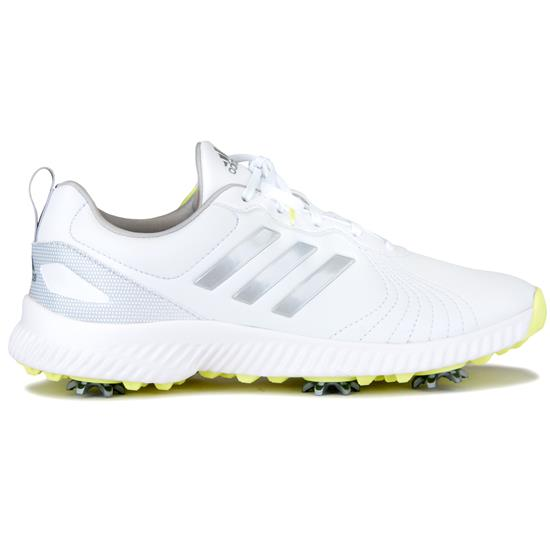 b0a401971da82 Adidas Response Bounce Golf Shoe for Women - White-Silver Metallic ...
