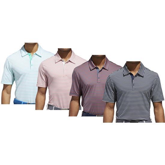 Adidas Men's Ultimate 365 2-Color Stripe Polo