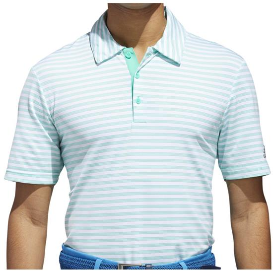 Adidas Men's Ultimate 365 2-Color Stripe Polo