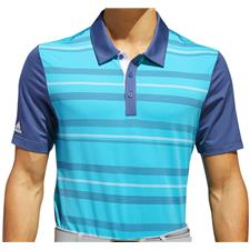 Adidas Men's Ultimate 365 Novelty Stripe Polo