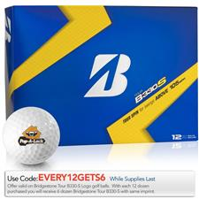 Bridgestone Tour B330-S B Mark Custom Logo Golf Balls