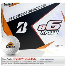 Bridgestone Custom Logo e6 Speed Golf Balls