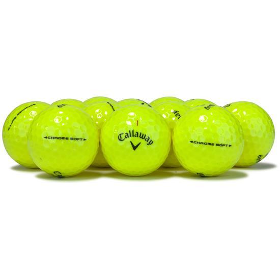 Callaway Golf 2018 Chrome Soft Yellow Golf Balls