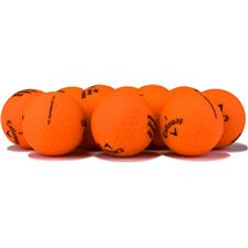Callaway Golf Superhot Bold Matte Orange Logo Overrun Golf Balls