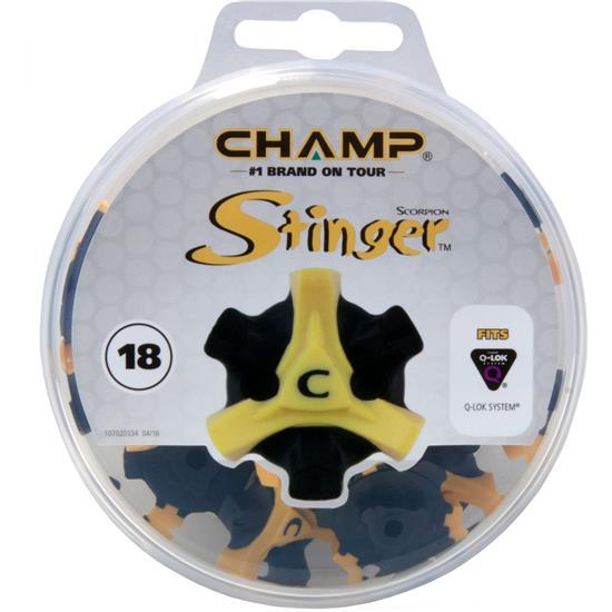 Champ Golf Stinger Golf Spikes - Q-LOK